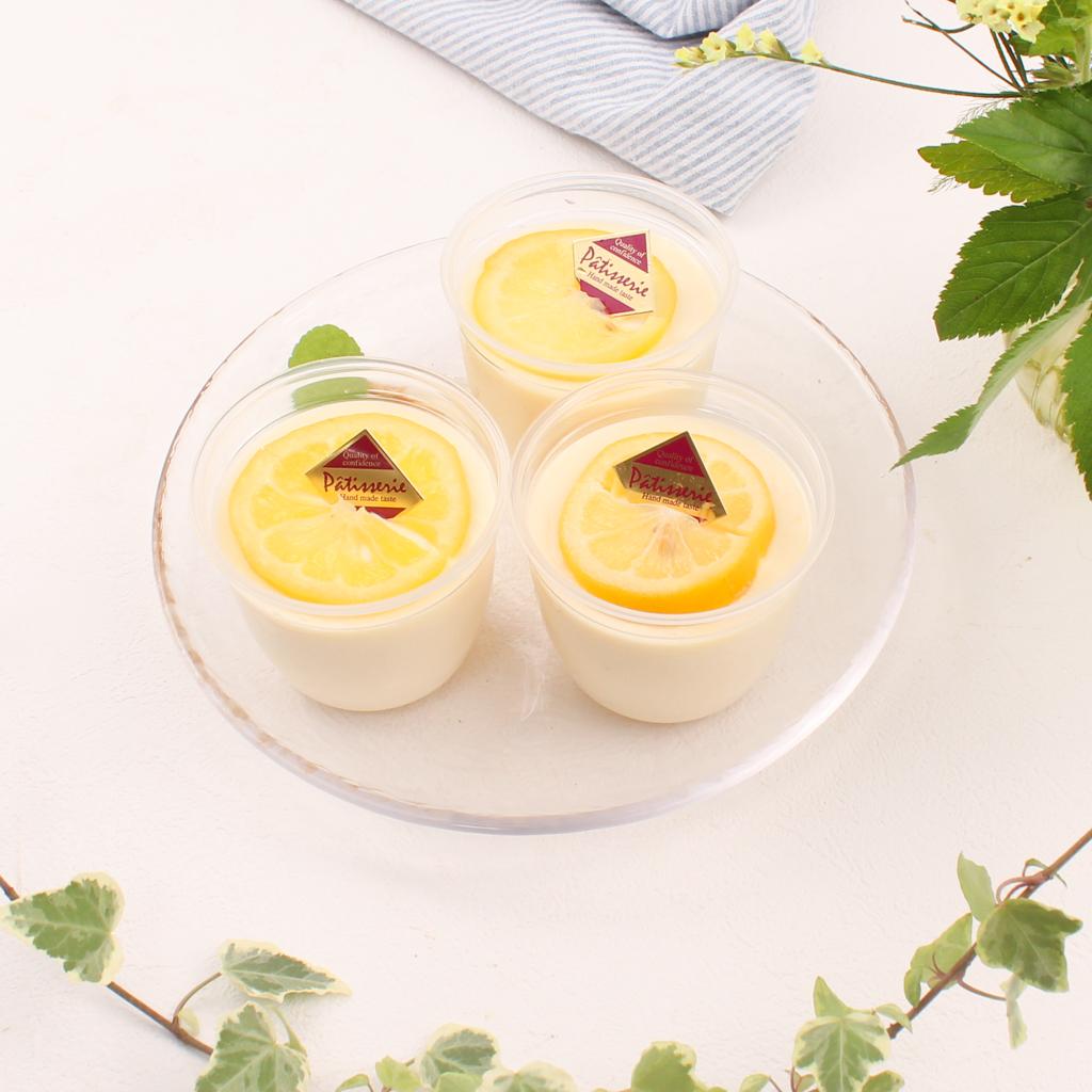 ハチミツレモンレアチーズケーキ